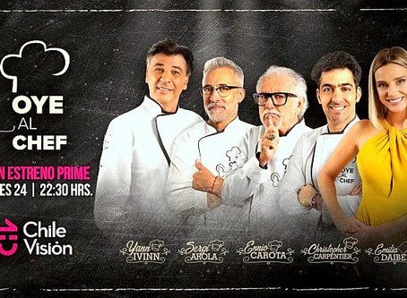 OYE AL CHEF! Chile launches No.1 in commercial ratings, watch trailer here!