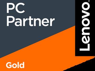 Wir haben es erreicht! Wir sind LENOVO Gold-Partner...