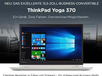 Neu bei uns: ThinkPad Yoga 370