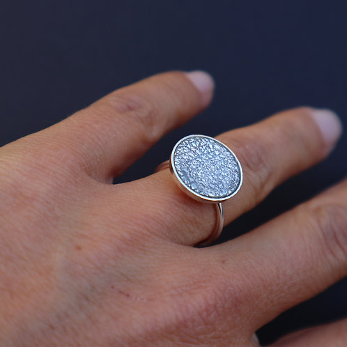 Petite bague Glitter&Silver