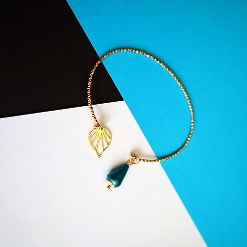 Bracelet jonc diamanté