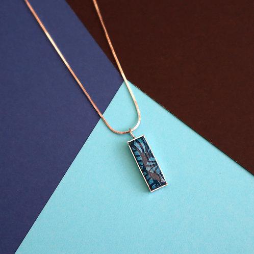 Chaine pendentif rectangle