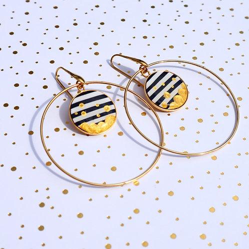 Boucles Grands anneaux