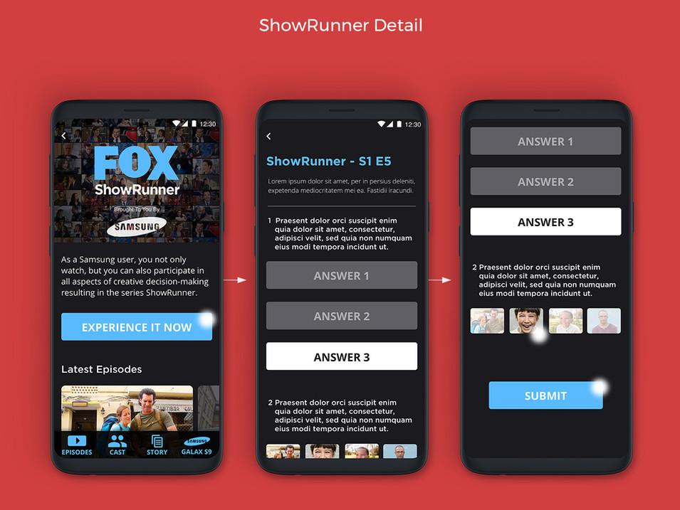FOX ShowRunner Experience