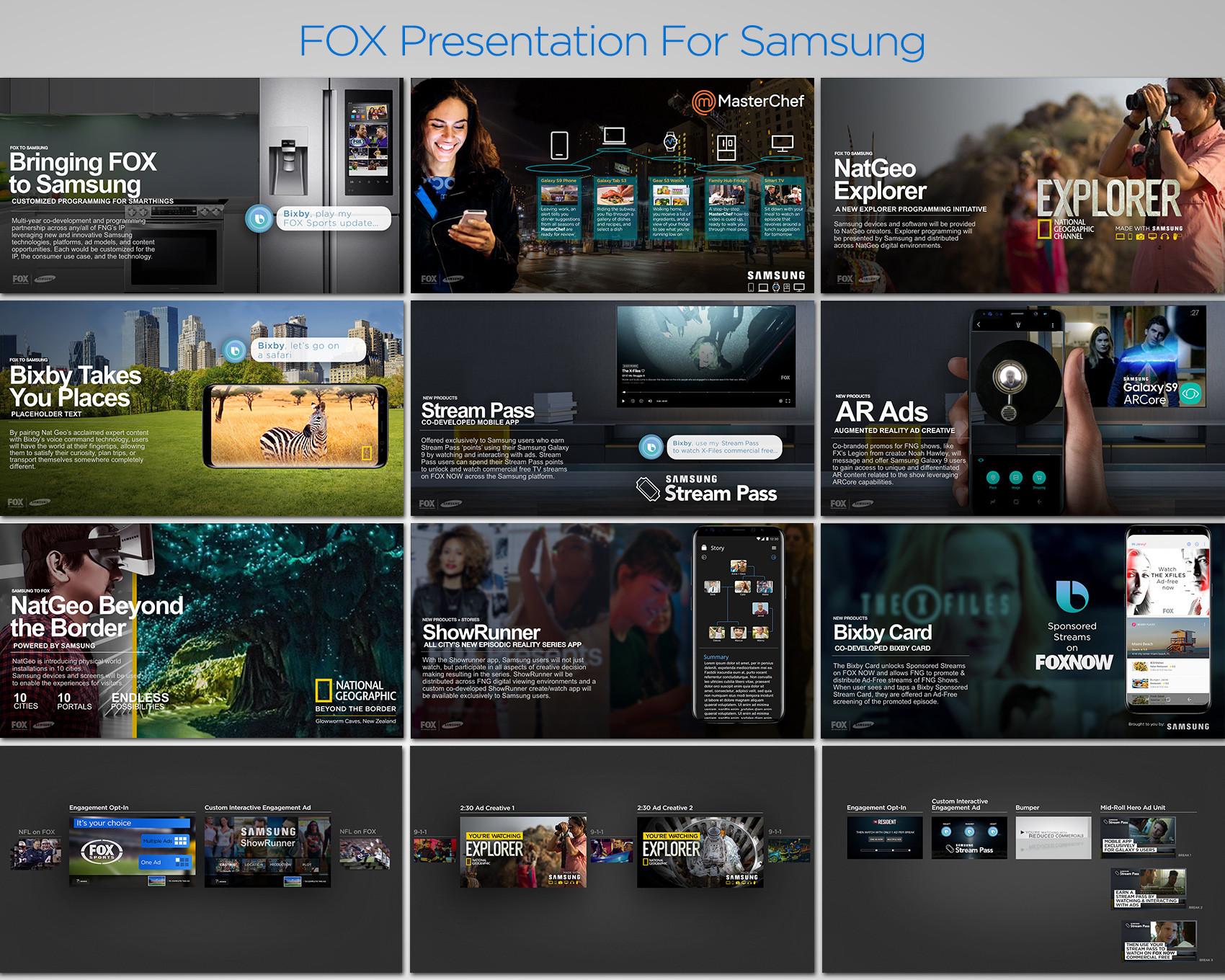 FOX Presentation For Samsung