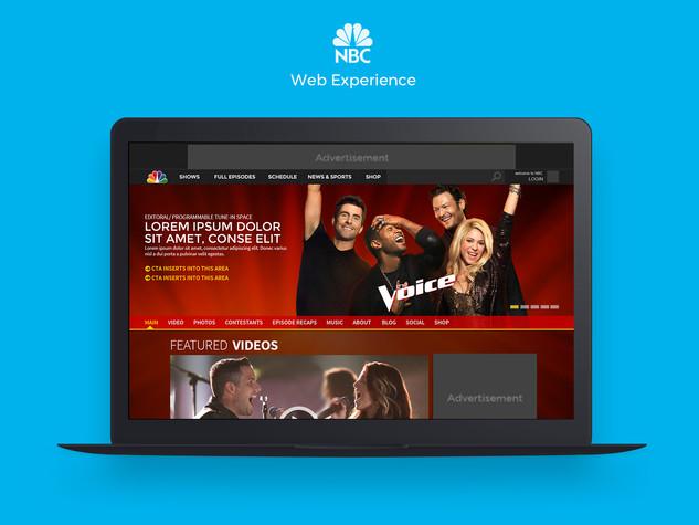 NBC Web Experience