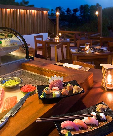 anoitecer kaze sushi bar