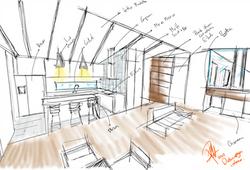 concepto interior casa delavega