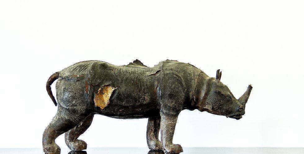 Leather Rhino Maquette