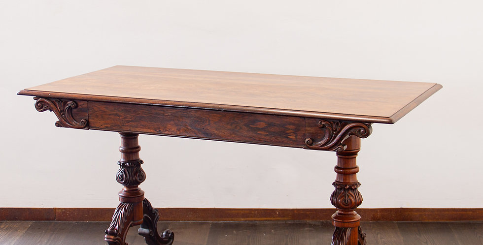 Early 19th Century Irish Rosewood Occasional Table
