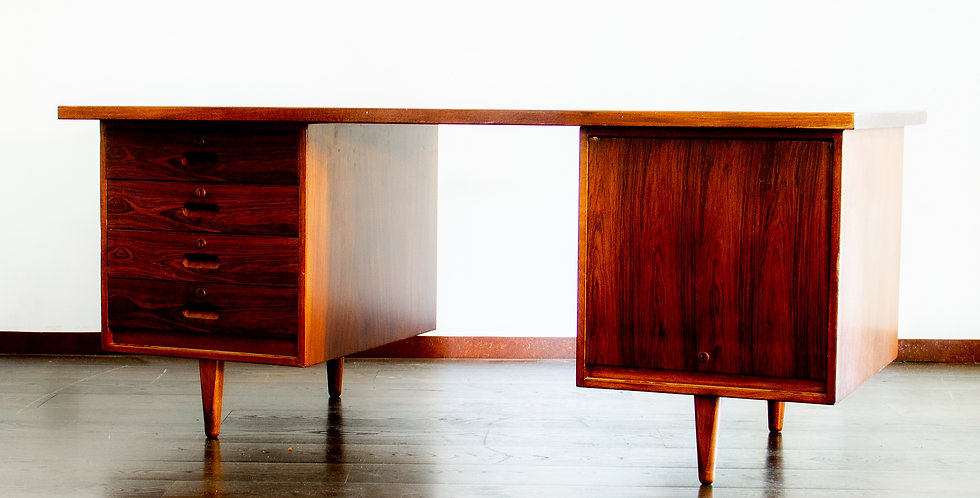 Mahogany Desk by Gordon Russell Limited