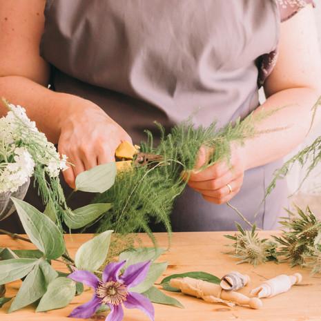 Evergeen Floral Design | Gemma Duck Personal Branding Photography Somerset