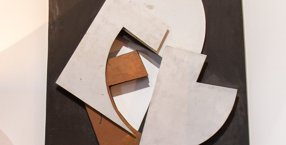 """Pro Coutiel Variation"" Relief by Hans Richter 1973"