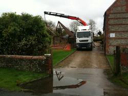 Crane Assisted Haulage