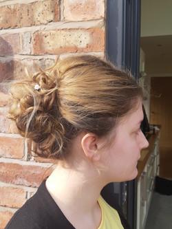 Lisa hair up