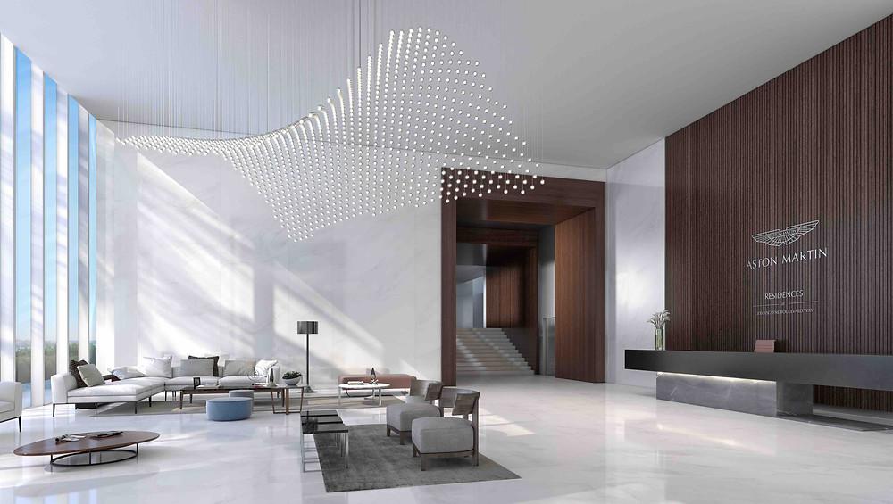 Miami Aston Martin Residences Miami Lobby