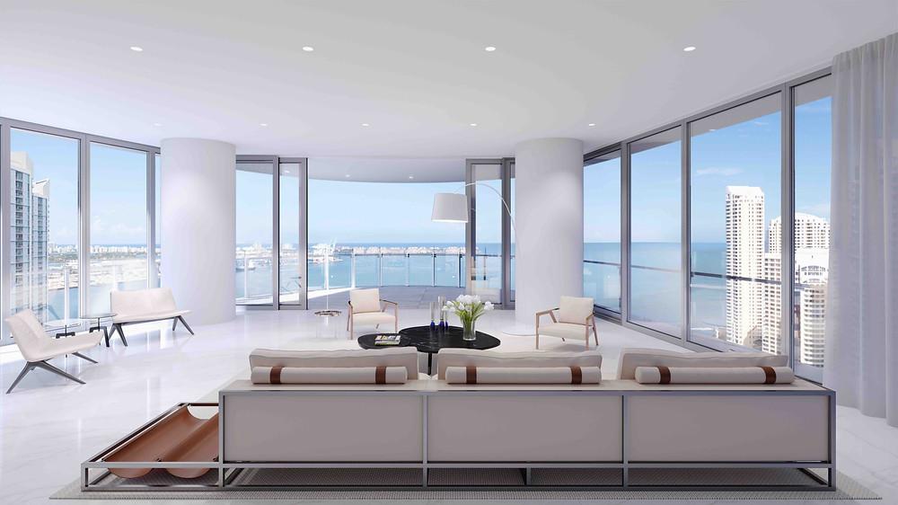 Miami Aston Martin Residences Condo Interior