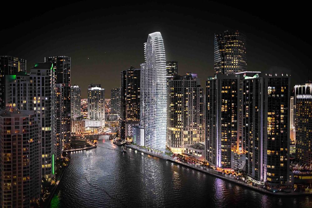 Aston Martin Residences in Miami Tower Exterior