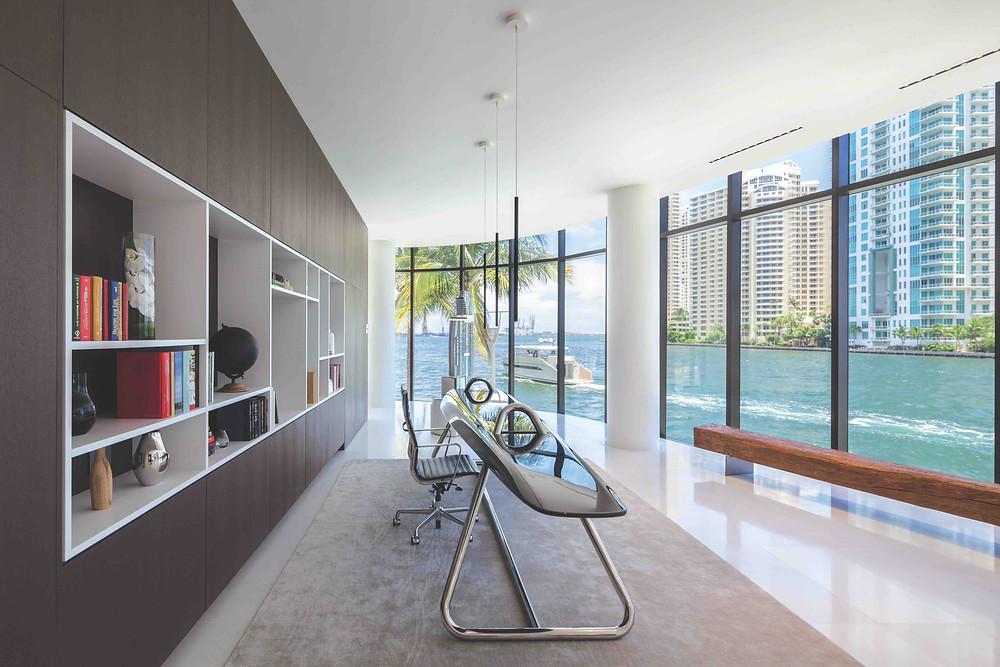 Interior of Aston Martin Residences in Miami