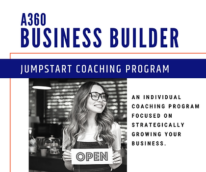Website A360 Business Builder Jumpstart