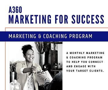 _Website A360 Marketing for Success Coac