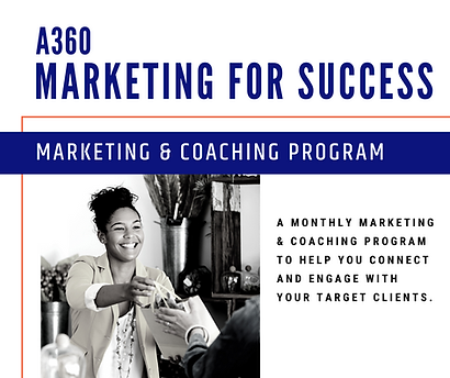_Website A360 Marketing for Success Coac