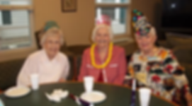 Party time again at Country Manor retirement home, retirement community,  assisted living, independent living, assited living facility