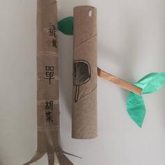 [Toilet Paper Rolls] Cicadas