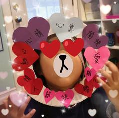 [Paper Craft] Valentine's Heart Wreath