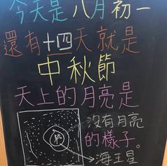 [Chalkboard] Moon Phases