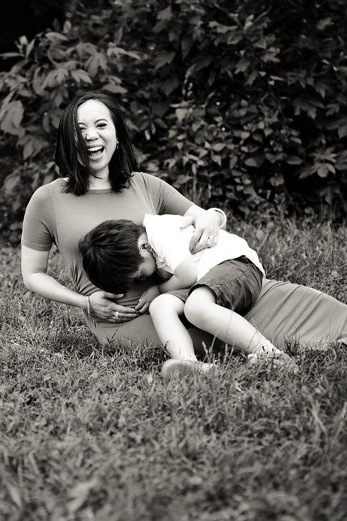 Michelle Maternity Shoot Prospect Park 1