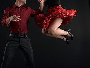 Los bailarines de swing