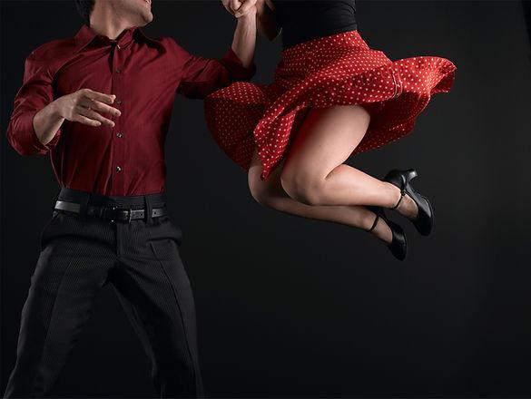 Les danseurs Swing