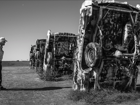 Cadillac Ranch  - Amarillo Texas