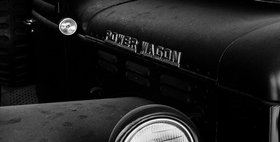 1940's Dodge Powerwagen #2 Black and White phto