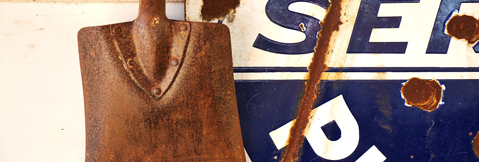 Shovel and Plymouth Automotive sign