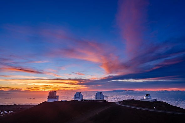 Sunset on Mauna Kea Observatories.jpg