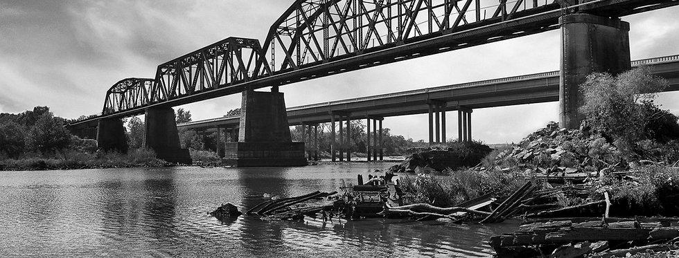 Old Iron Rail Bridge