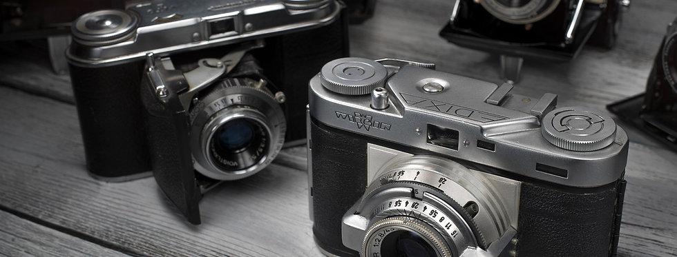 Still Life Photography | Vintage German Cameras