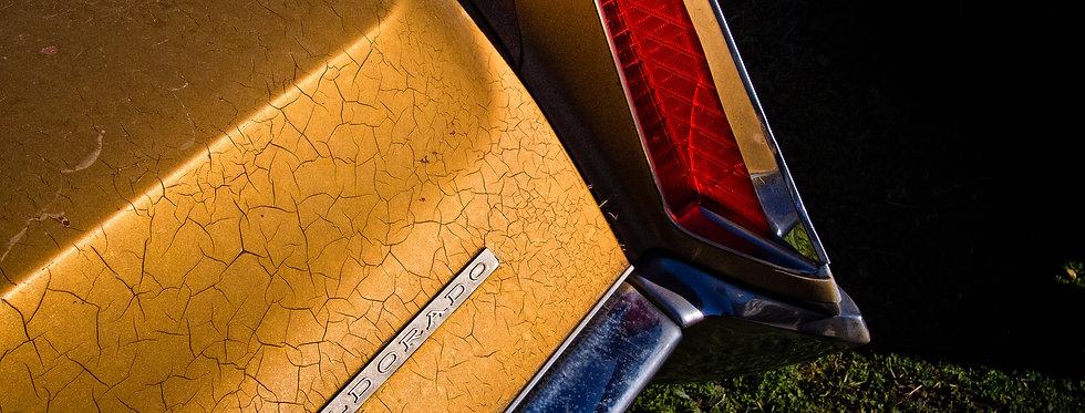 70's era Cadillac Tail Fin