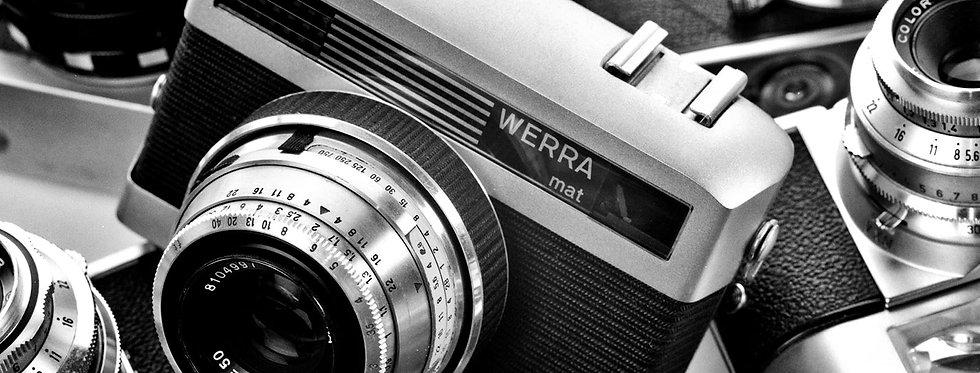 Still Life Photography | 1950's Zeiss WERRAmat  Camera