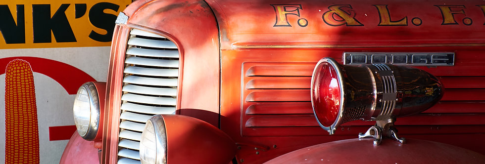 1940's Dodge Fire Engine