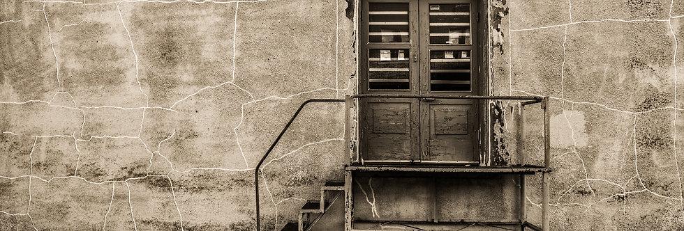 Receiving door - Downtown Mckinney Texas