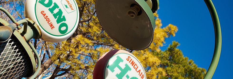 Sinclair Gasoline pumps