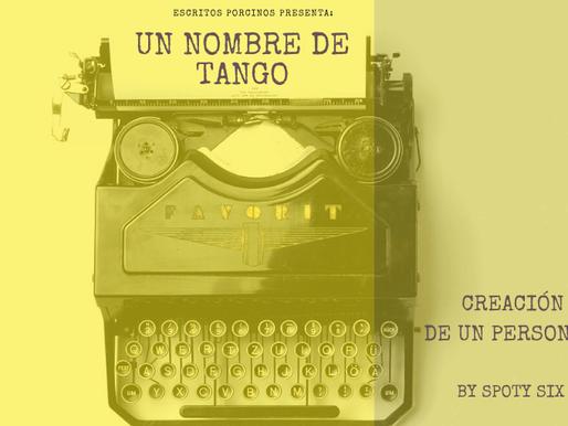 Un nombre de tango