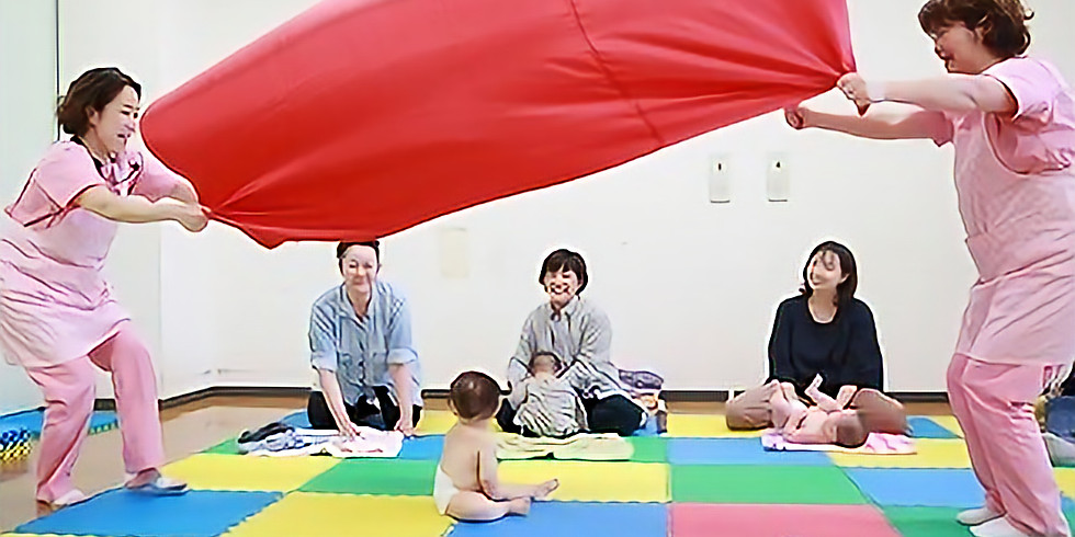 ベビマ活発 ママZUMBA 6か月~14か月