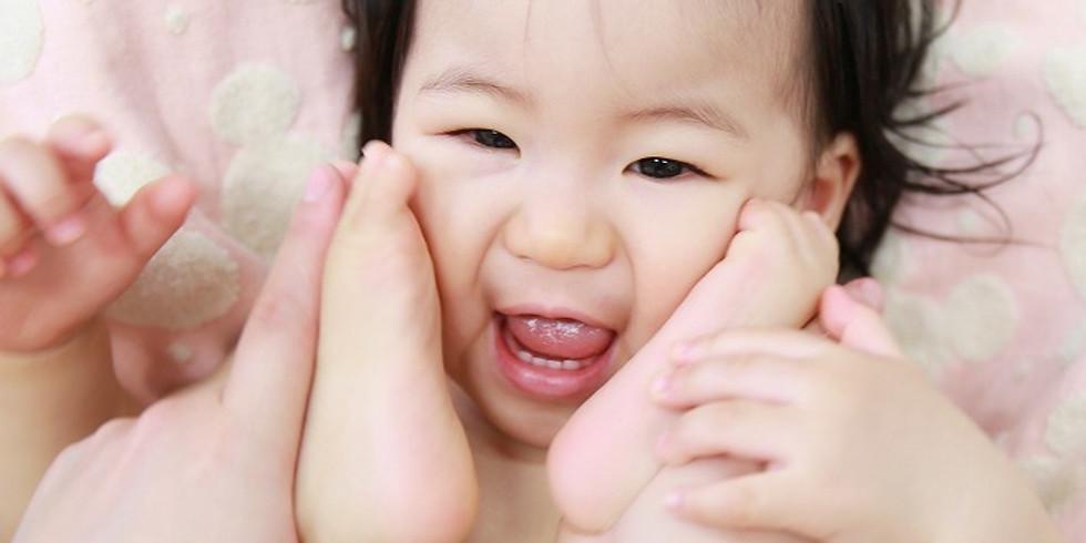 ベビマ基本② 足のベビマ 感情的にならない子育て 2か月~12か月