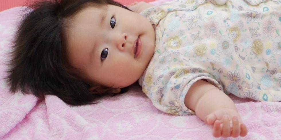 うたうベビマ基本③|おなかと背中のベビマ|快眠講座(赤ちゃんの睡眠)|2か月~12か月