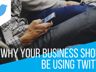 Why your business should be using Twitter