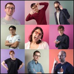 Portraits lunettes